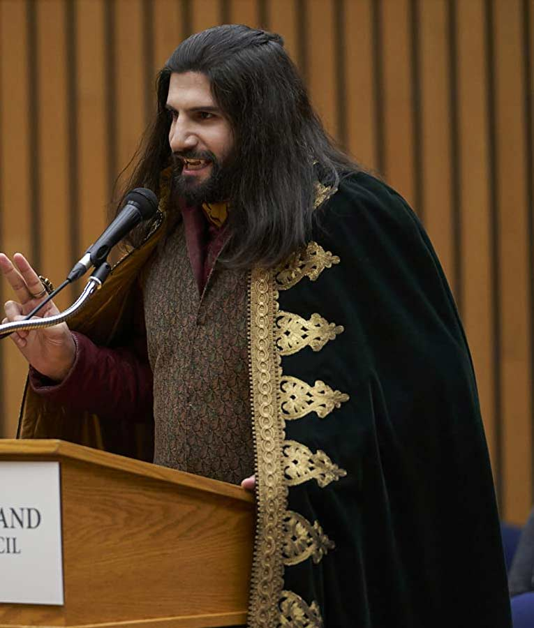 What We Do in the Shadows Kayvan Novak Green Cloak Coat