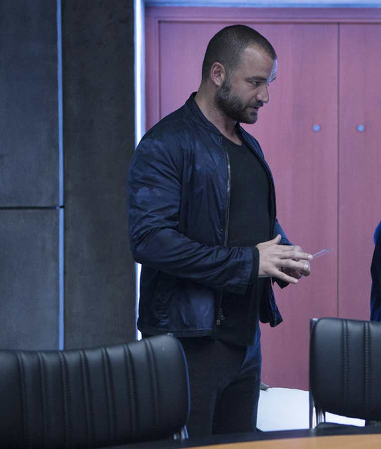 Nick E. Tarabay The Expanse S02 Cotyar Jacket