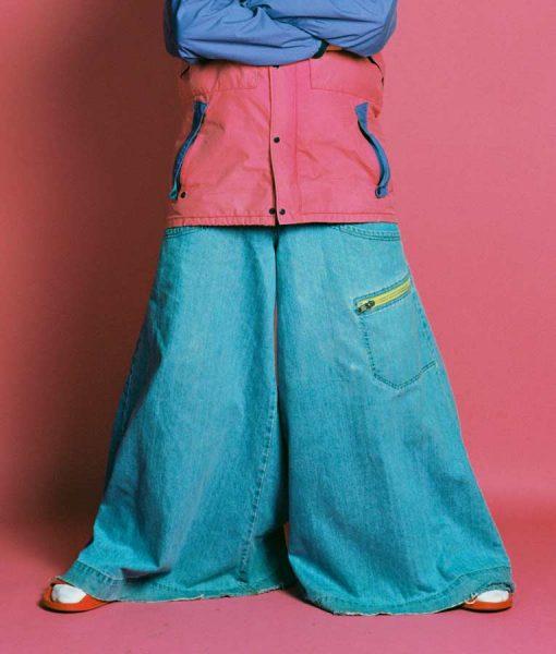 Oliver Tree Blue Jeans Pant