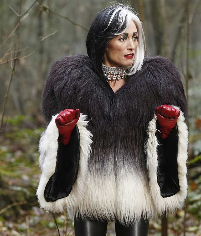 Cruella Deville Once Upon a Time Fur Jacket