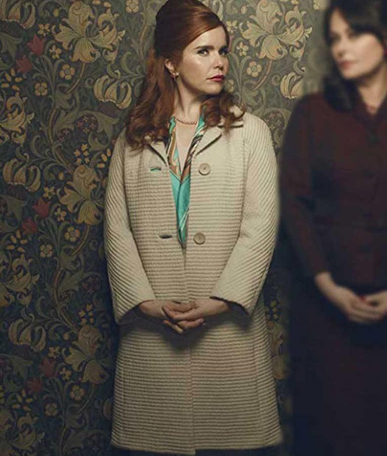 Bet Sykes Pennyworth Paloma Faith White Coat