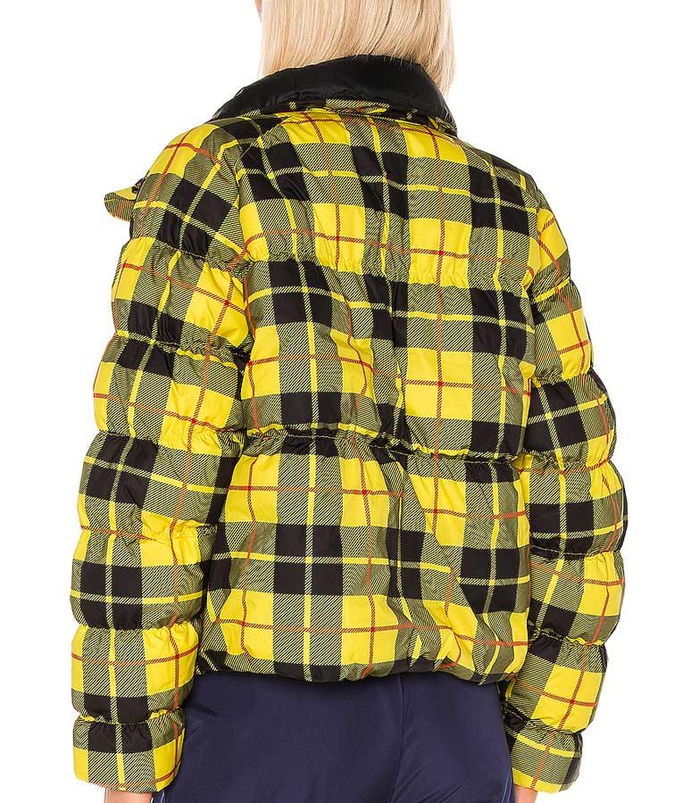 Emily Yellow Plaid Jacket