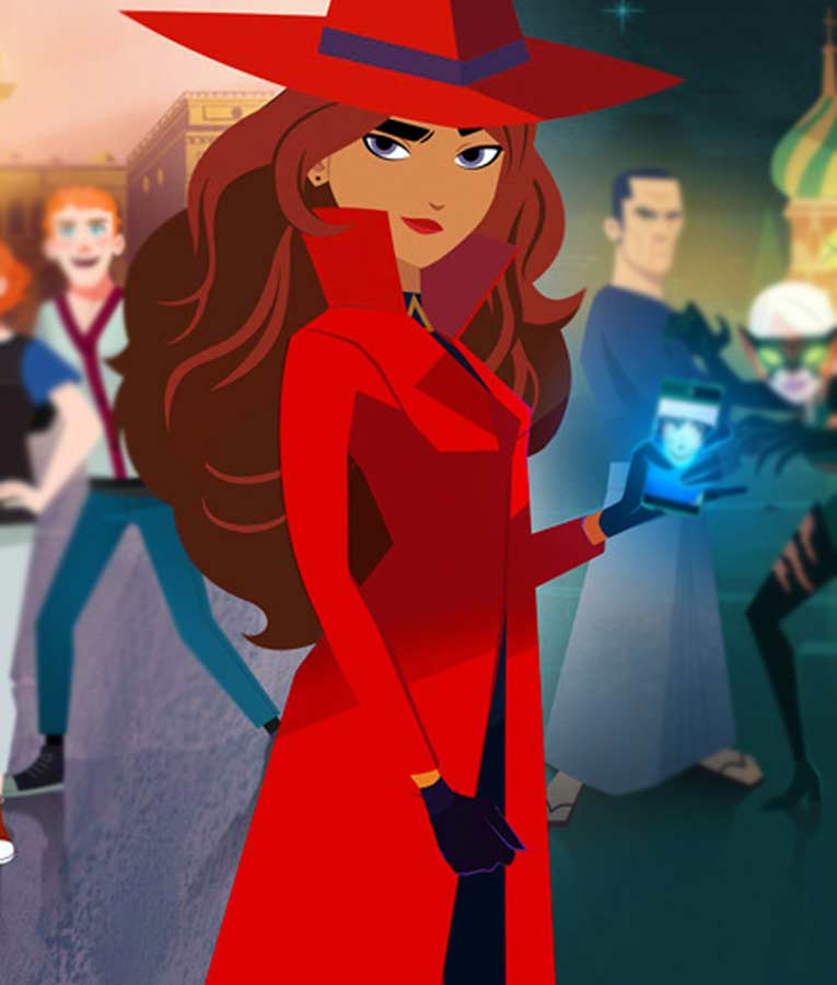 Carmen Sandiego Season 03 Red Coat