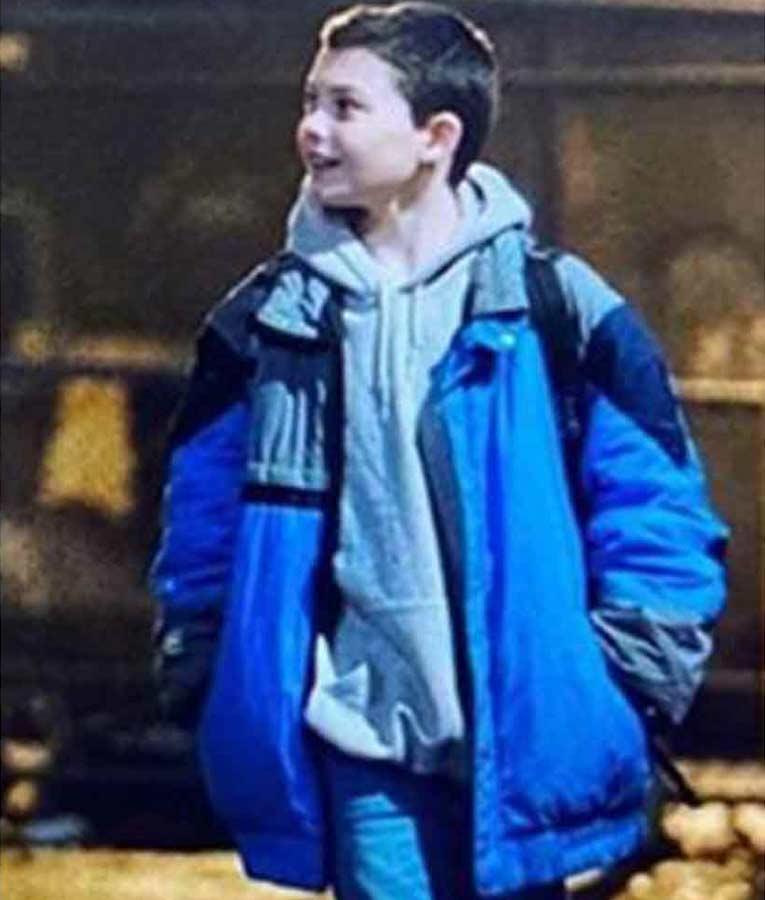 Javon 'Wanna' Walton Samaritan Blue Puffer Oversize Jacket