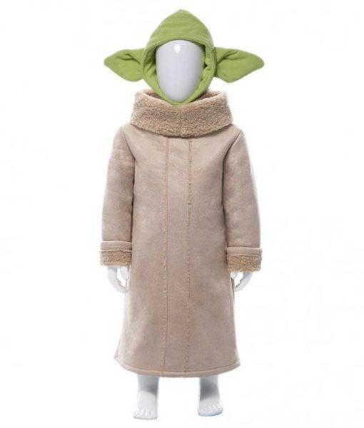 Baby Yoda Suede Coat