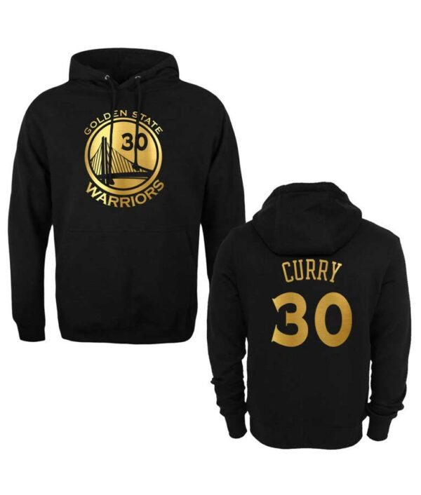Stephen Curry NBA Golden State Warriors Black Pullover Hoodie