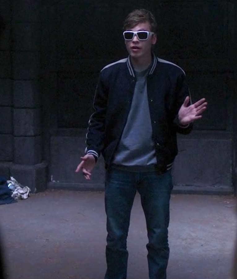 TV Series Supernatural S015 Belphegor Bomber Alexander Calvert Jacket