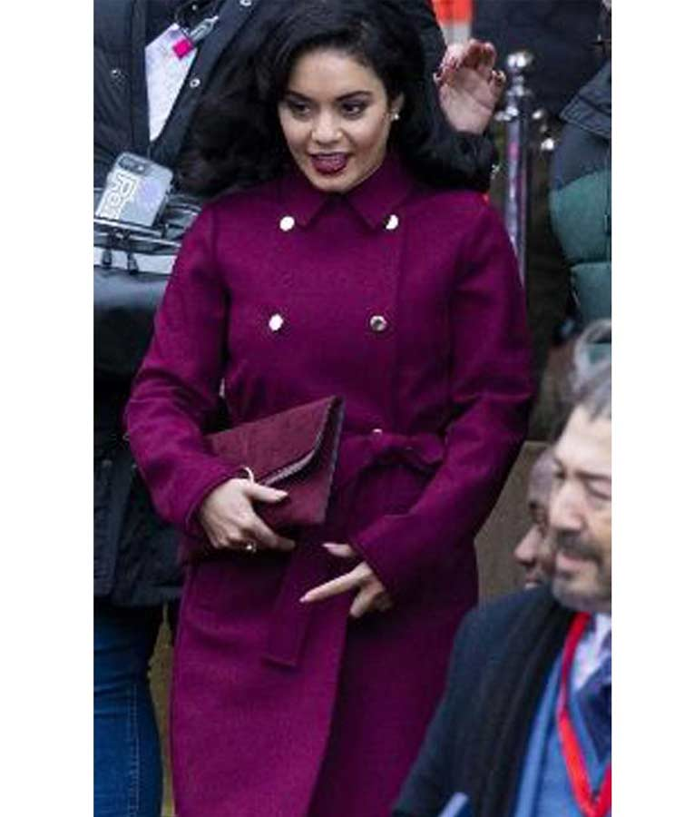 Switched Again Vanessa Hudgens Trench Coat