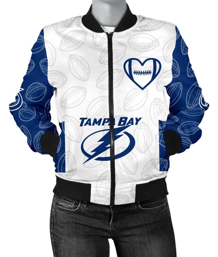 Lightning Tampa Bay Lightning Bomber NHL Jacket Bomber NHL Jacket