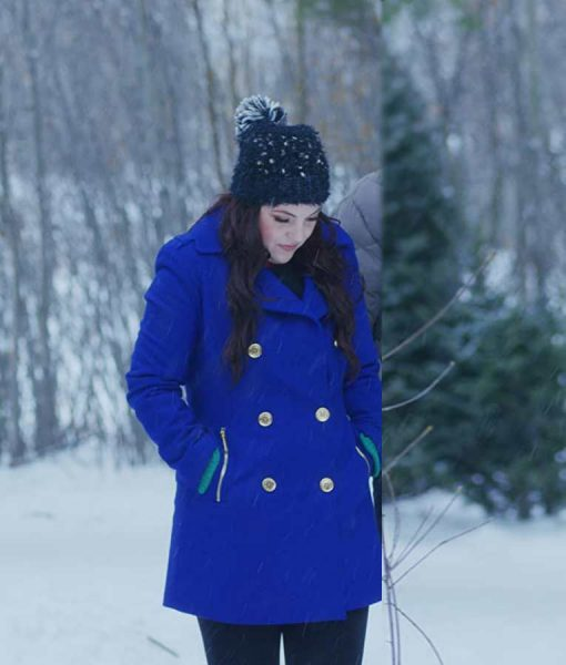 Julia Rogers The Christmas Listing Double-Breasted Lexi Giovagnoli Coat