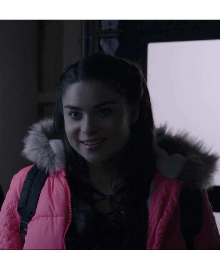 The Lie Devery Jacobs Pink Parka Jacket