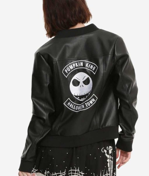 The Nightmare Before Christmas Leather Jacket
