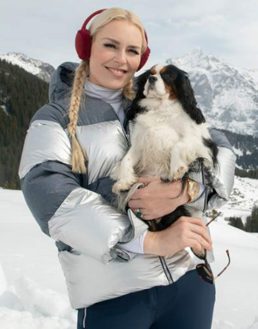 Lindsey Vonn TV-Series The Pack Puffer Jacket with Hood