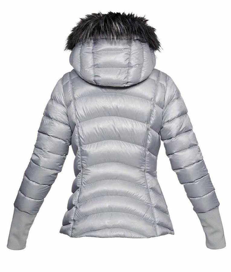 Lindsey Vonn Puffer Hooded Jacket