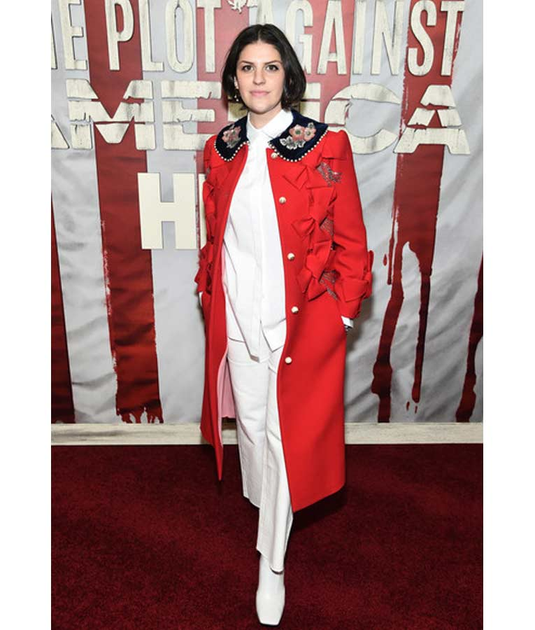 The Plot Against America Jeriana San Juan Coat