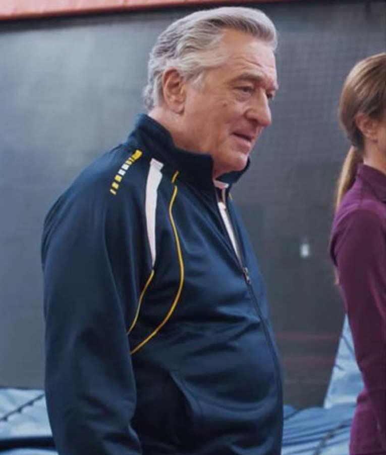 Robert De Niro The War With Grandpa Ed Blue Track Jacket