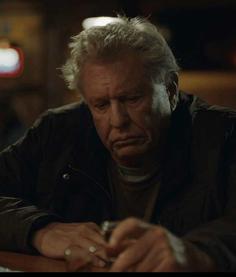Tom Berenger Blood and Money Black Jacket