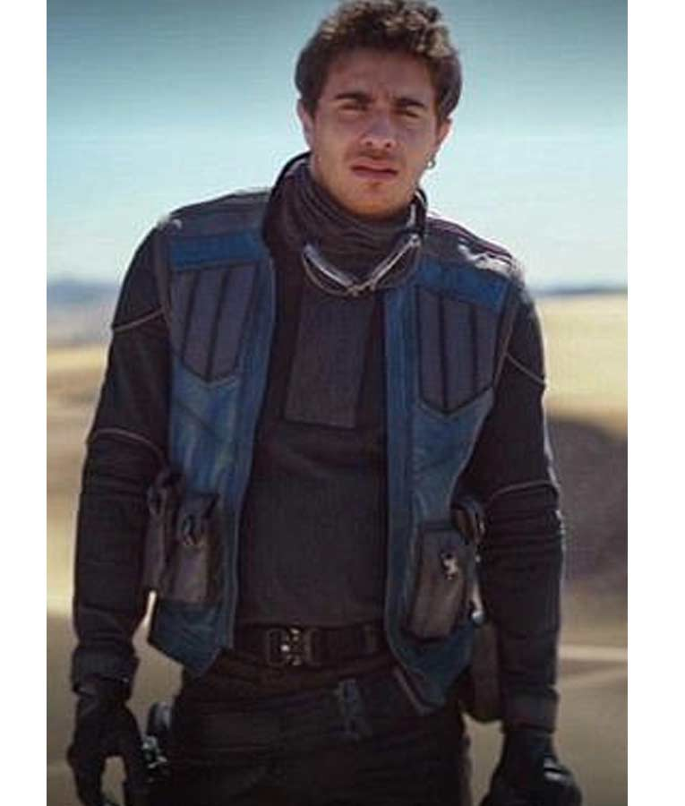 Jake Cannavale The Mandalorian Toro Calican Leather Vest