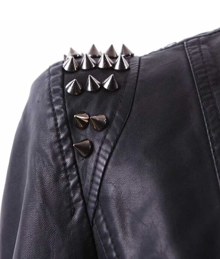 Wendy Osefo TV Series Real Housewives of Potomac S05 Black Leather Jacket