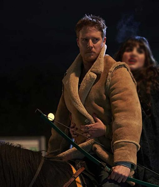 Jake McDorman What We Do in the Shadows Jeff Suckler Shearling Jacket