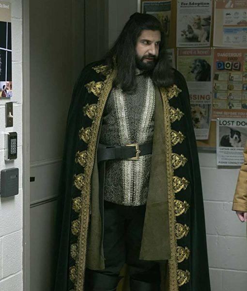 Nandor What We Do in the Shadows Kayvan Novak Cloak Coat