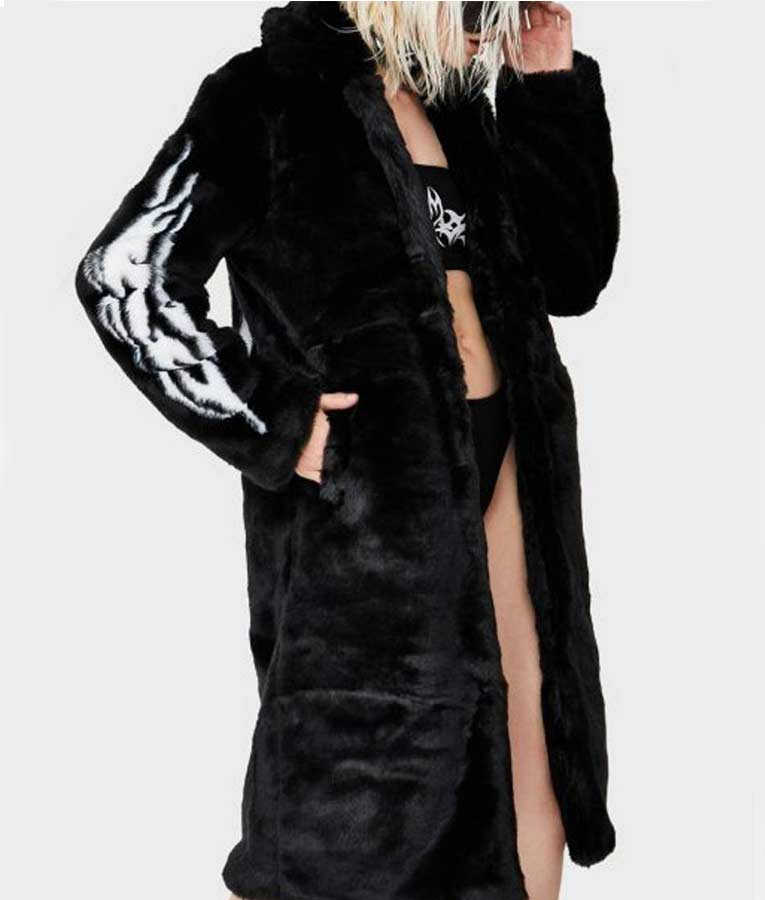 Fallen Angel Fur Coat