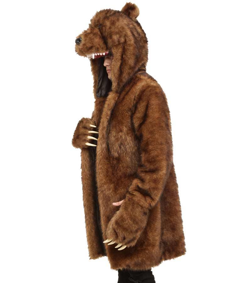 Workaholics Blake's Bear Brown Fur Coat
