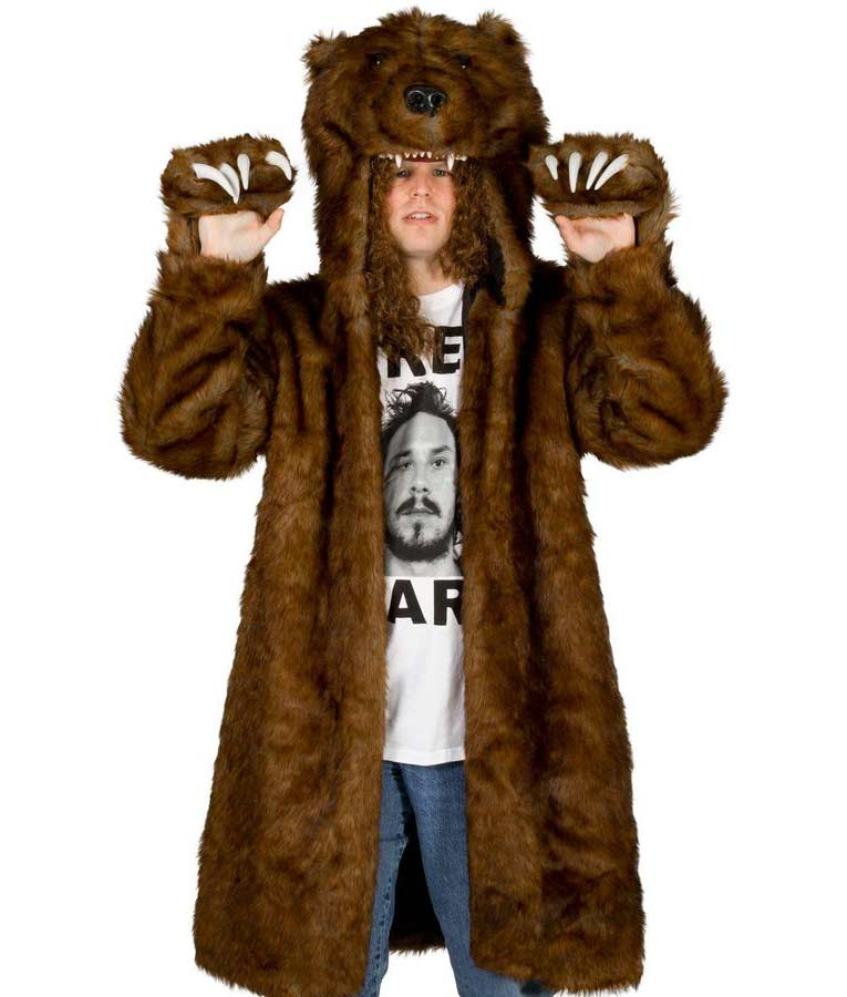 Workaholics Blake's Bear Coat - Workaholics Bear Jacket