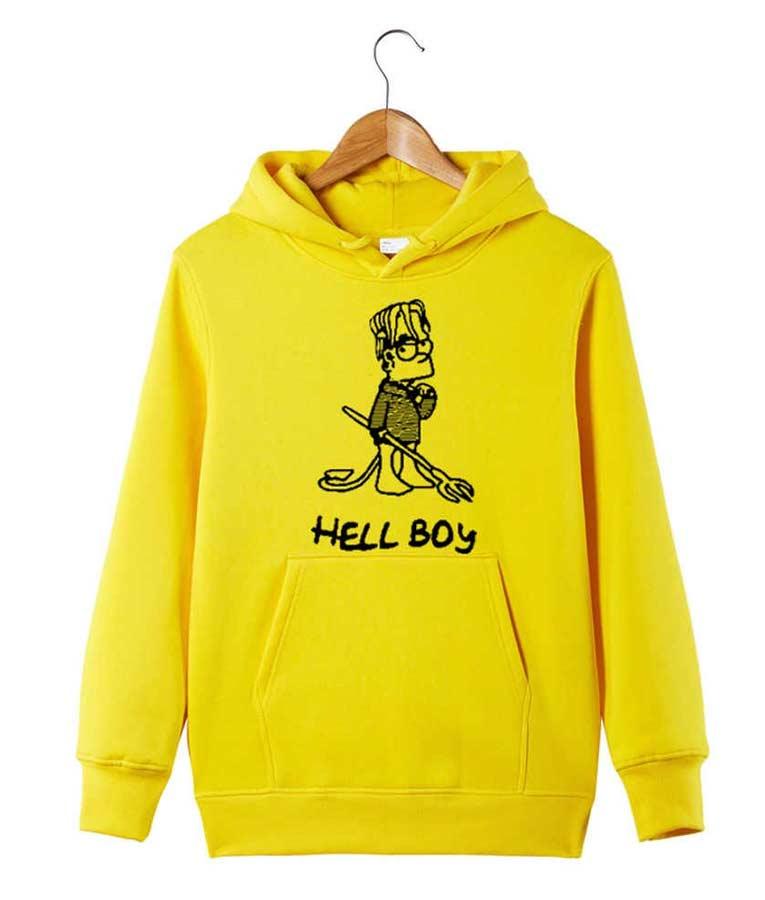 Lil Peep Hellboy Black Hoodie