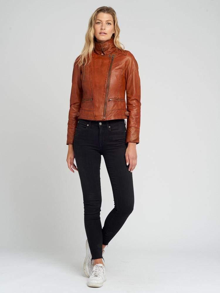 Ladies-Tanned-Leather-Jacket-007