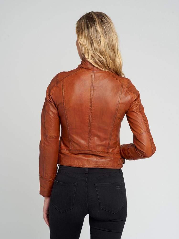 Ladies-Tanned-Leather-Jacket-001